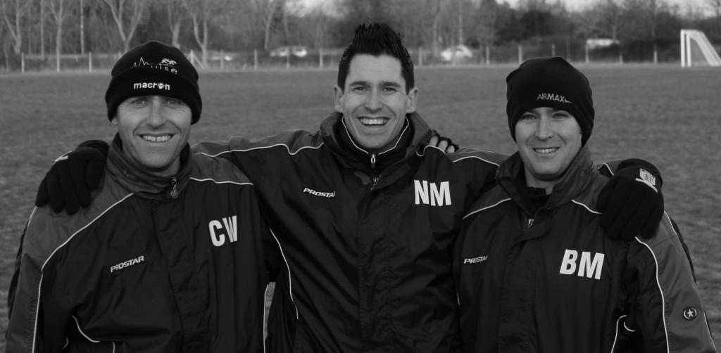 Chris, Neil and Brad