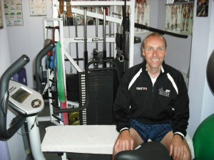 At the Pulse Multigym facility in Chertsey
