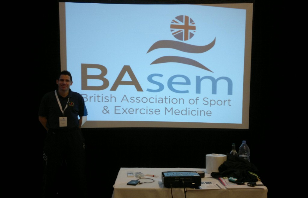 Neil was a keynote speaker at this year's BASEM conference.