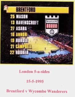 Brentford FC London 5-a-sides
