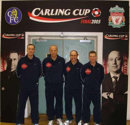Carling Cup Final Team