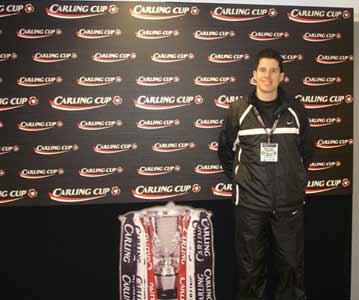 Neil Mason with Trophy