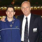Neil Mason with Steve Bennett
