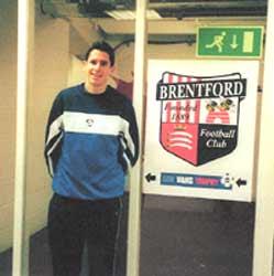 Neil at Brentford FC