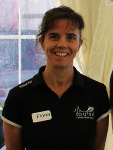Fiona Slupinski Webster, Sports Therapist