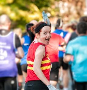 Laura Fountain running
